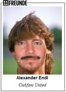 Alexander Endl nach dem 11FREUNDE-Frisör