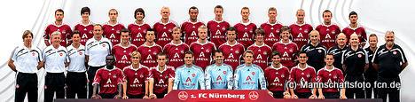 Mannschaftsfoto © fcn.de